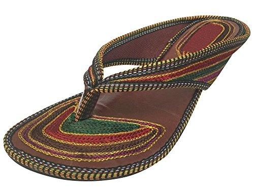 Step n Style Schritt N Style Panjabi jutti Khussa Schuhe indischen Schuhe mojari Flipflop Flache Schuhe Juti