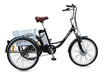 JORVIK TRICYCLES JORVIK 26 - Marco Plegable de Aluminio de Estilo Vintage, Triciclo y elástico