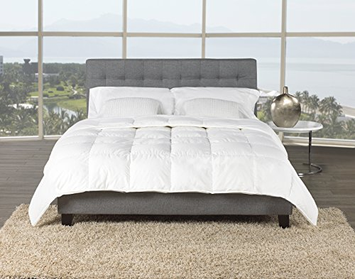 Canadian Geese Blanket - Sleep Solutions Canadian Hutterite White Goose Down Luxury Light Weight Comforter, King