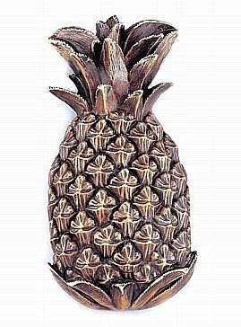 Large Pineapple Door Knocker (Brass Knocker Door Pineapple)