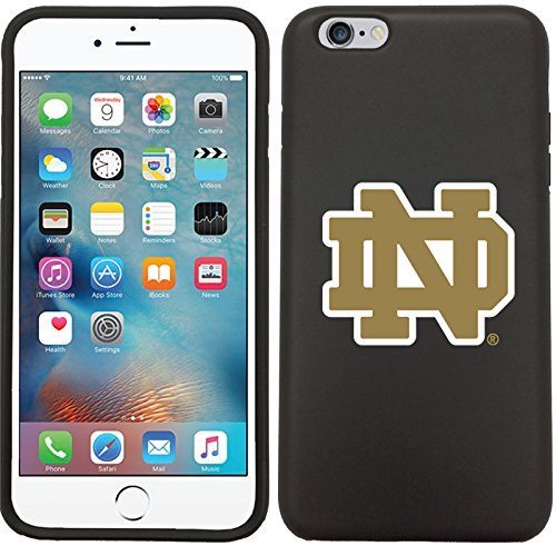 Coveroo Apple iPhone 6 Plus/6s Plus Black Guardian Case with Notre Dame Emblem, Color Design