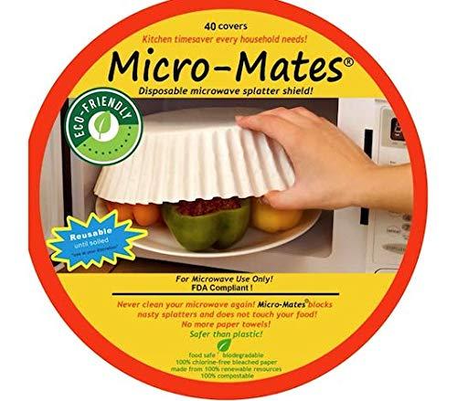 micro-mates salpicaduras de microondas desechables Shield, 40 ...