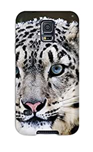 Wendy Uhle's Shop Case Cover Protector For Galaxy S5 Snow Leopard Case 4389564K66963161