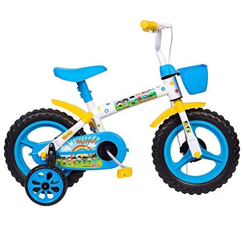 Bicicleta Infantil Styll Aro 12 Bco/azul Claro