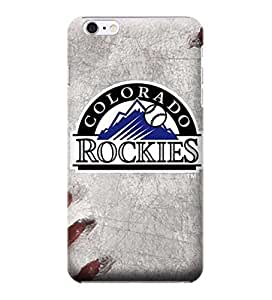 iphone 4 4s Cases, MLB - Colorado Rockies Game Ball - iphone 4 4s Cases - High Quality PC Case