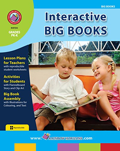 Big Book Clipart - Interactive Big Books Gr. PK-K