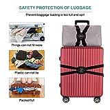 Luggage Strap, ZINZ High Elastic Suitcase