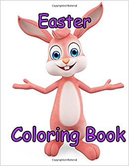 Easter Coloring Book 85 X 11 Big Drawing Activity Books Volume 2 Doodle 9781544801940 Amazon