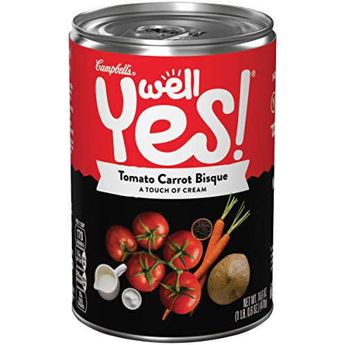 Well Yes! Tomato Carrot Bisque, 16.6 Ounce (Pack of 12) (Packaging May (Tomato Bisque Ingredients)