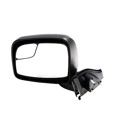 KV Manual Rear View Door Mirror W//Glass+Housing Left Driver Side