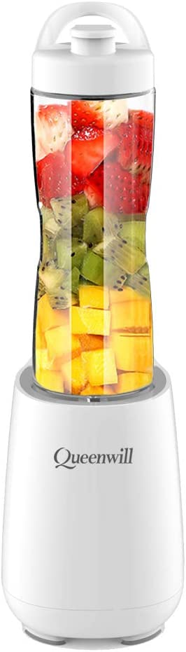 Blender Juicer Electric Fruit Mixer Blender with Portable Sport Bottles for Ice, Shakes, Smoothies & Vegetable Juice Maker