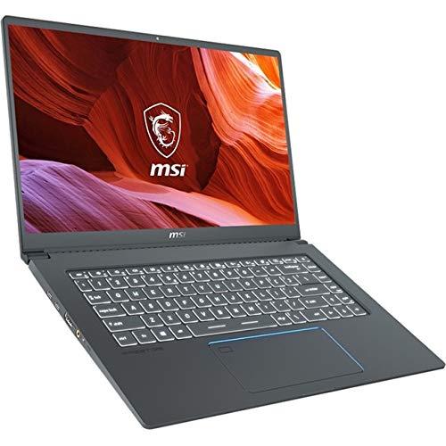 """MSI Prestige 15 A10SC-011 15.6"""" Ultra Thin and Light Professional Laptop Intel Core i7-10710U GTX1650 MAX-Q 16GB DDR4 512GB NVMe SSD Win10Pro"""