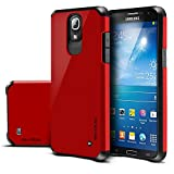 Galaxy Mega 2 Case, Evocel® Dual Layer Armor Protector Case For Samsung Galaxy Mega 2 SM-G750 (AT&T 2014 Release) - Fire Engine Red