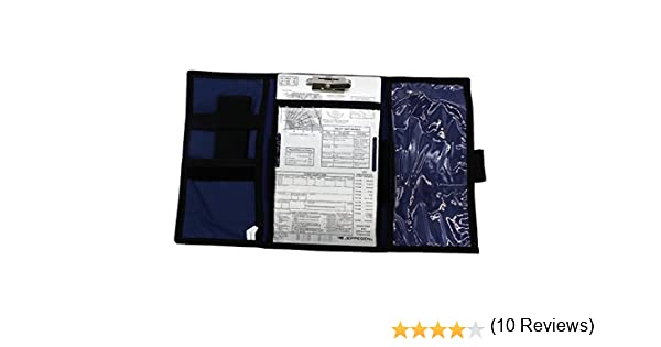 jeppesen VFR Tri-Fold kneeboard con portapapeles js626003: Amazon ...