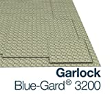 Garlock Blue-Gard 3200 - 1/8'' Thick - 30'' x 30'' Sheet