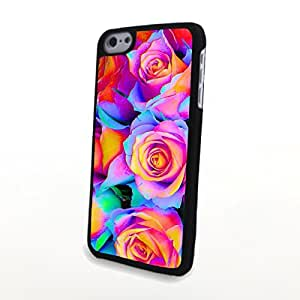 linfenglinGeneric PC Phone Cases Fresh Colorful Beautiful Flowers Matte Pattern fit for Charming Cute iphone 6 plus 5.5 inch Case
