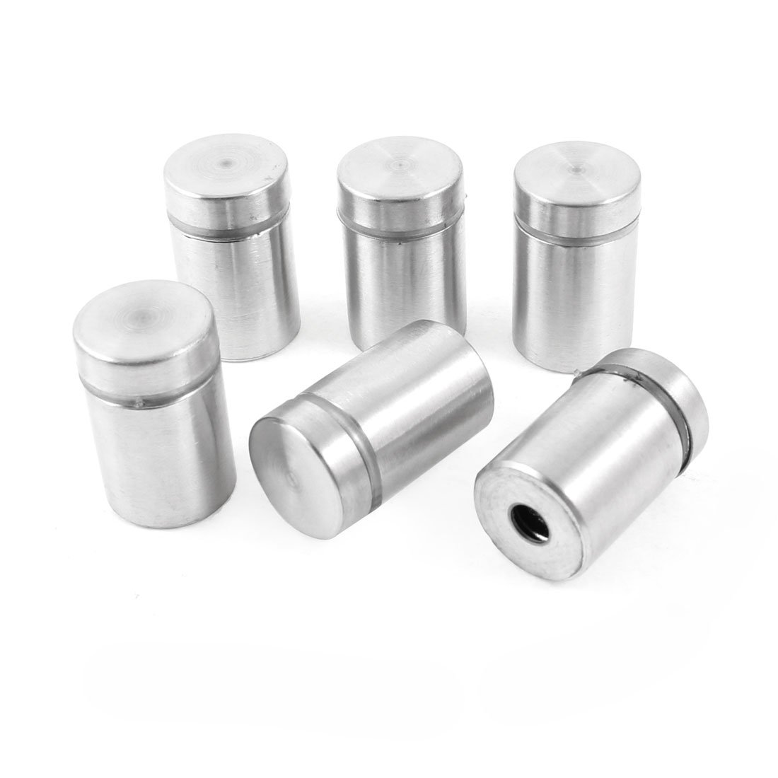 in acciaio INOX 6 pezzi Distanziatore per vetro 16 x 25 mm