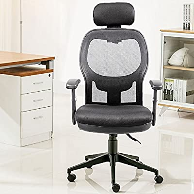 Anji Modern Furniture High Back Computer Mesh Office Desk Chair