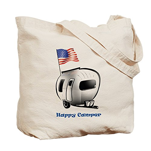 CafePress - Happy Camper USA - Tote Bag by CafePress