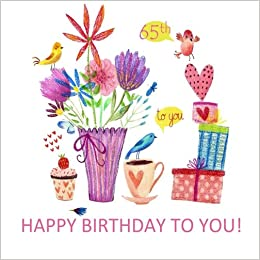Happy Birthday To You 65th Adult Coloring Book Gifts For Women In Al Her