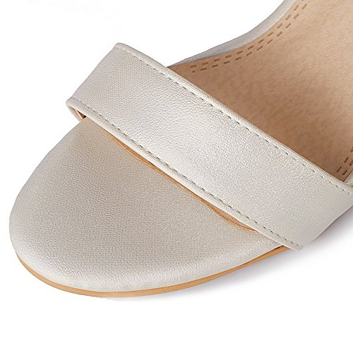 36 Ouvert ASL05568 Beige BalaMasa Bout 5 Beige Femme Ycqwa7