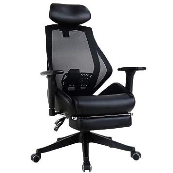 Fzyqy Computer Stuhl Ergonomischer Bürostuhl 360drehung Die