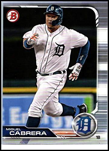 2019 Bowman #21 Miguel Cabrera Detroit Tigers Baseball -