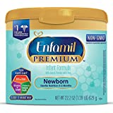 Enfamil PREMIUM Newborn Non-GMO Infant Formula - Reusable...