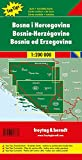 Bosnia / Herzegovina Road Map 1:200K (English, Spanish, French, Italian and German Edition)