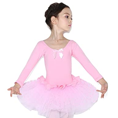 1db61d0ac Amazon.com  Lisianthus Girls  Ballet Dress Gymnastics Leotard with ...