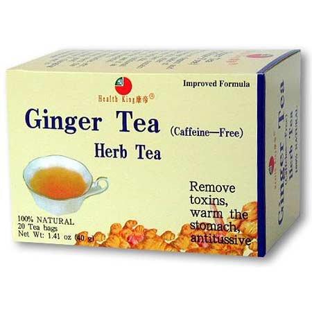 (Health King - Ginger Tea - 20 Tea Bags)