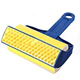 SODIAL(R) Reusable Rubber Sticky Buddy Pet Hair Remover Picker Cleaner Roller Brush Fur
