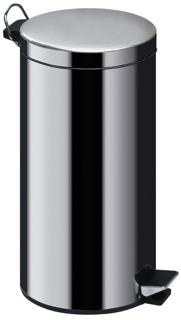 Premier Housewares Stainless Steel Pedal Bin, 30 L
