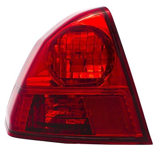 05 Honda Civic 4DR Driver Tail Lamp HO2800153 Lens Hsg Fits 33551S5BA01 LH (Civic Tail Light Lh Driver)