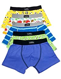 COLLECTION YVES MARTIN | Young Boys' Boxer Briefs (toddlers) | 5 Pack (4567/5)