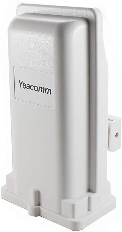 Yeacomm Outdoor Router 4G CPE al Aire Libre, Router 3G 4G LTE con Ranura para Tarjeta SIM, 150Mbps Router móvil CAT4 para el hogar/Oficina/Camping