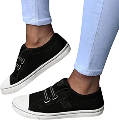 Padaleks Womens Comfortable Leather Loafers Slip On Platform Wedges Sneakers Round Toe Walking Shoes Plus Size