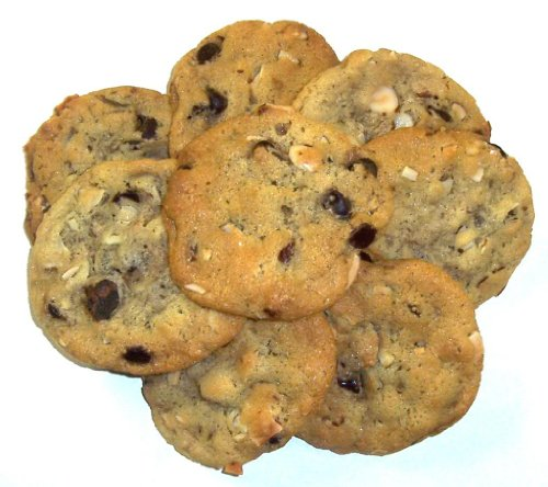 - Scott's Cakes Chocolate Chip Cookies with Almonds in a 1 Pound White Bakery Box