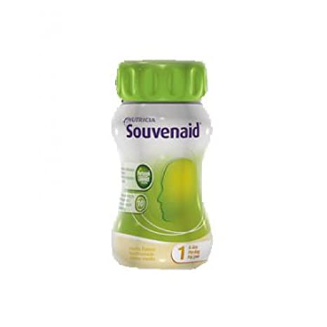 Nutricia Souvenaid Food Supplement Sabor Vainilla 4x125ml