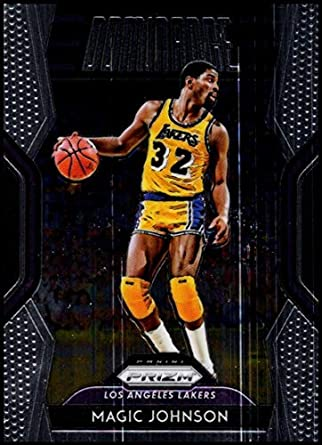 b8a071eaa 2018-19 Prizm Dominance Basketball  2 Magic Johnson Los Angeles Lakers  Official NBA Trading
