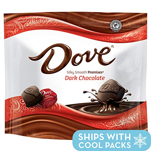 DOVE PROMISES Dark Chocolate Candy 8.46-Ounce Bag (Pack