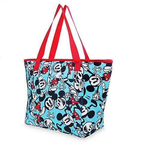 Disney Store Mickey Mouse Summer Fun Insolated Cooler Tote