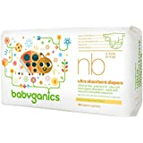 Image: Babyganics Ultra Absorbent Diapers | 100% natural NeoNourish antioxidant Seed Oil Blend | help nurture and support baby's skin