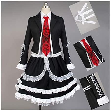 Danganronpa Junko Enoshima Costume Uniform Shirt Suit fo Halloween Cosplay Party
