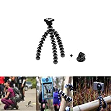 iwish Large Octopus Flexible Tripod Stand Gorillapod for GoPro Hero 4 Session, 4/ 3+ /3 /Orignal Gopro Camera and Smartphone
