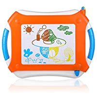 Svance Magnetic Learning Board for Kids in Home School, Erasable Magna Doodle Drawing Board for Toddlers Painting Writing, Colorful Etch a Sketch pad for Children