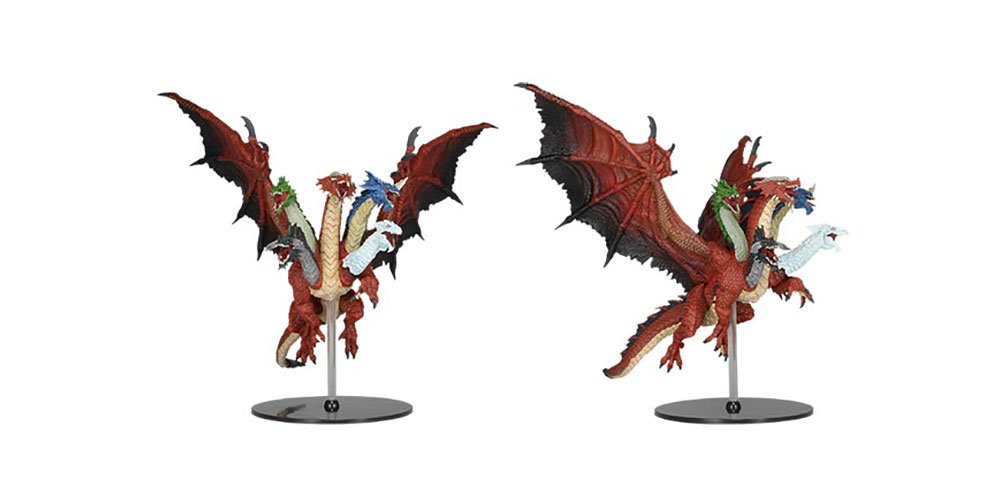 Dungeons And Dragons Icone Del Regno - Tiamat