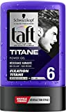 Schwarzkopf Taft Hair Styling Power Gel - Titanium Hold 6 - 300m