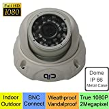 CIB True HD-TVI 1080P 2.1Megapixel HD Dome Cameras, BNC Connect Type. Connect to TVI Security DVR System Only - CUH08P03W