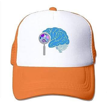 dfegyfr Cerebro de Dibujos Animados Ajustable Deportes Malla ...